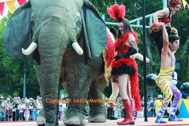 Moomba Parade 2013 Festival Melbourne Circum Float